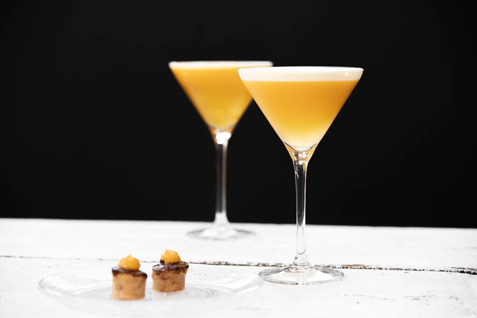 pornstar martini + breadpudding